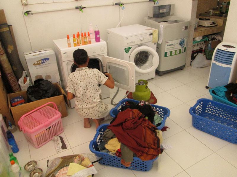 pelatihan operasional laundry