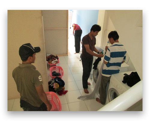 pelatihan manajemen dan operasional laundry